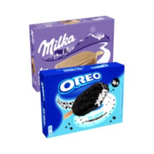 Milka oder Oreo Eis Cream Multipackungen