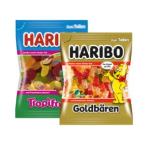 Haribo Fruchtgummi oder Lakritz