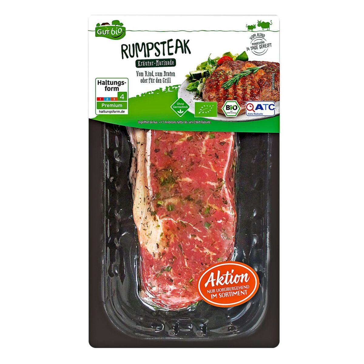 Bild 1 von GUT bio Bio-Steaks vom Rind 249 g