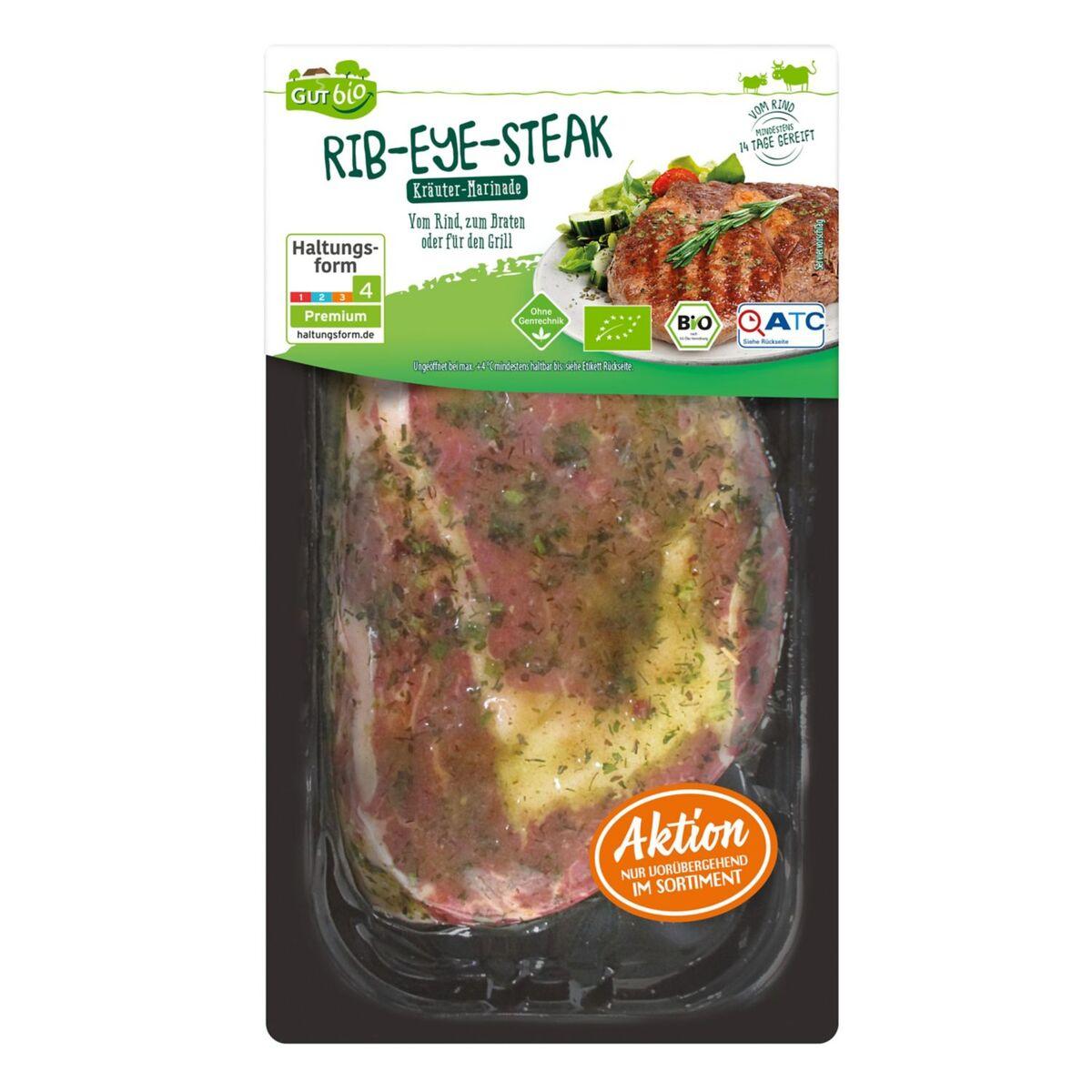 Bild 2 von GUT bio Bio-Steaks vom Rind 249 g