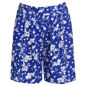 Damen Shorts mit Blumen-Print