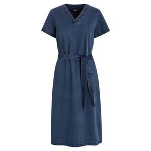 Damen Kleid in Denim-Optik