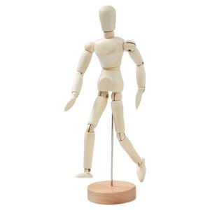 Flexible Holzfigur