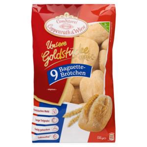Coppenrath & Wiese Unsere Goldstücke 9 Baguette-Brötchen