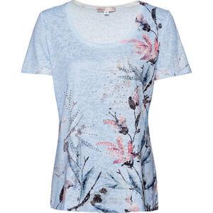"Adagio T-Shirt ""Ava 2"", Ausbrenner-Optik, Print, Kurzarm, für Damen"