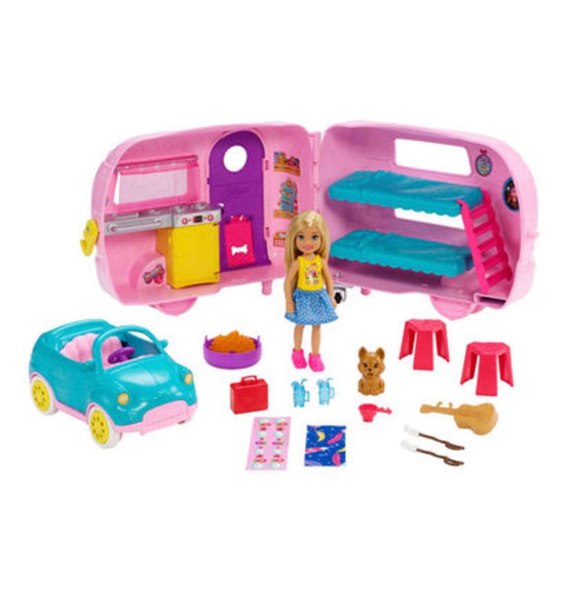 Bild 1 von Barbie Chelsea Camper und Puppe Spielset
