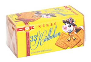 """Kekse """"33 Kälbchen"""" mit Quarkgeschmack"""