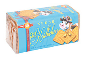 "Kekse ""33 Kälbchen"" mit Rahmgeschmack"