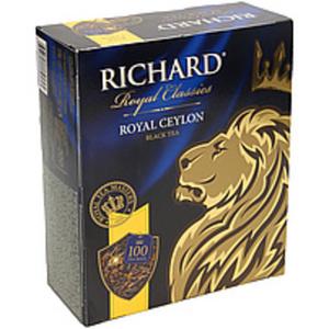"Schwarzer Tee aus Ceylon ""Richard Royal Ceylon"" 100 x 2g"