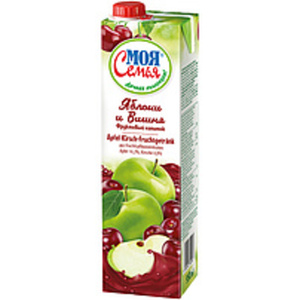 Apfel-Kirsch-Fruchtgetränk aus Fruchtsaftkonzentraten. Apfel...