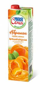 Aprikosenfruchtgetränk aus Fruchtmarkkonzentrat. Fruchtgehal...