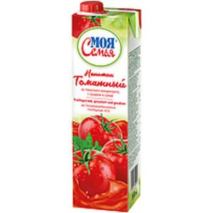 Fruchtgetränk aus Tomatenmarkkonzentrat, gezuckert und gesal...