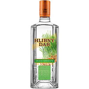 """Vodka """"Hlibny Dar proroschennoe serno"""" 40% vol."""