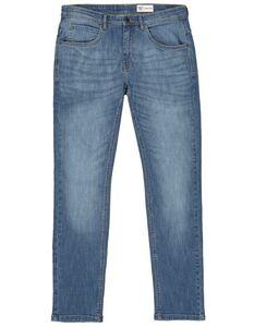 Herren Slim Fit Jeans im Stone Washed-Look