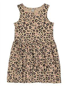 Mädchen Kleid - Animal-Muster