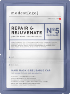 Modest ego  Haarmaske Repair & Rejuvenate No 5,  Hair mask + cap
