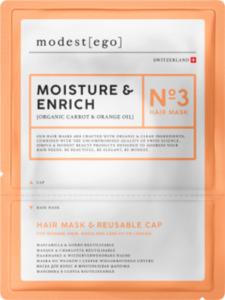 Modest ego  Haarmaske Moisture & Enrich No 3, Hair mask + cap