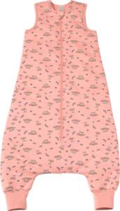 PUSBLU Kinder Schlafsack 2,5 TOG, 110 cm, in Bio-Baumwolle und recyceltem Polyester, rosa