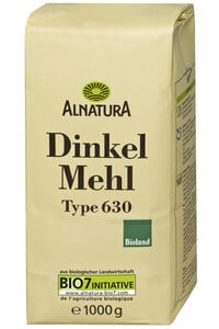 Alnatura Bio Dinkelmehl Typ 630 1KG