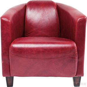 Kare-Design SESSEL Echtleder Rot  Cigar Lounge Red  Leder