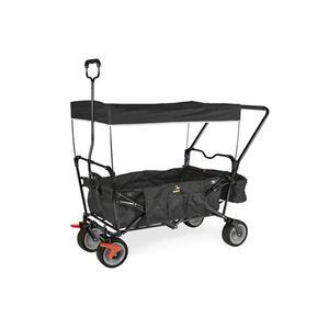 XXXLutz Bollerwagen schwarz  238024 Paxi DLX Comfort  *mb*  Metall