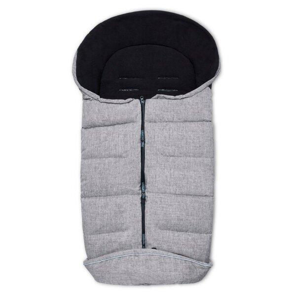 ABC Design Winter-Fußsack Graphite Grey