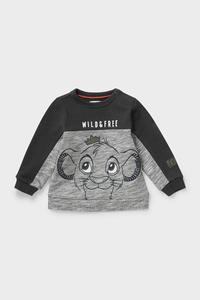 C&A Der König der Löwen-Baby-Sweatshirt-Bio-Baumwolle, Grau, Größe: 62