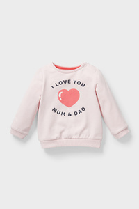 C&A Baby-Sweatshirt-Bio-Baumwolle, Rosa, Größe: 62