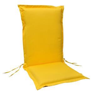 Sesselauflagenset 'Premium' gelb