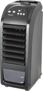 bestron Luftkühler mobiles Gerät, mit Fernbedienung, Dauernutzung von max. 20h, 70 W, Schwarz