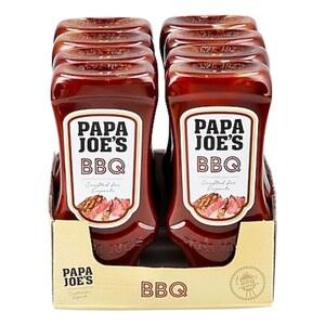Papa Joes BBQ Sauce 300 ml, 8er Pack