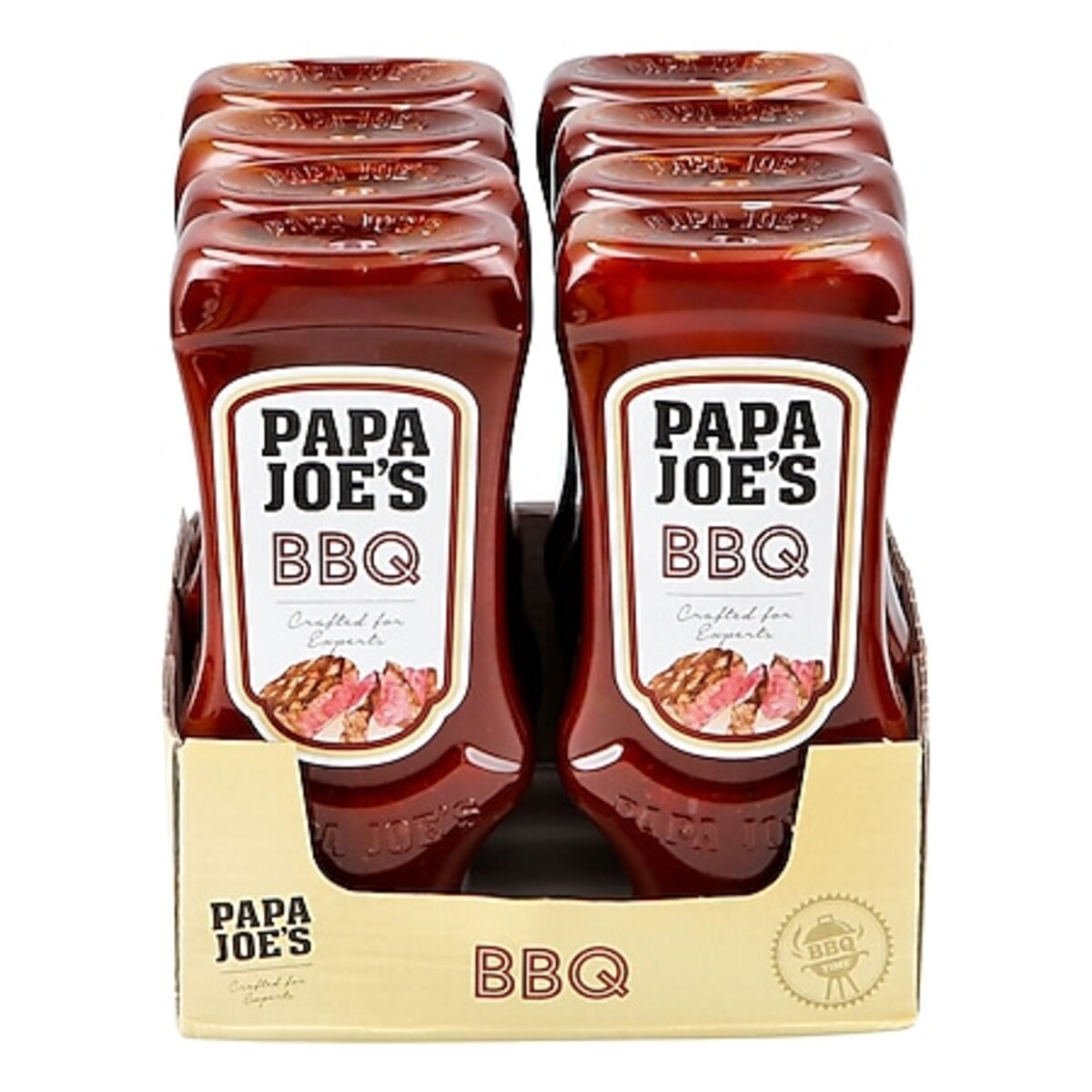Bild 1 von Papa Joes BBQ Sauce 300 ml, 8er Pack