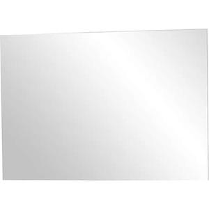 Germania 3771-84 rahmenloser Spiegel GW-Topix in Weiß, 87 x 60 x 3 cm (BxHxT)