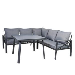 Greemotion Lounge-Set Amsterdam, Stahl, grau