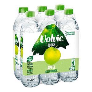 Volvic Wasser mit Apfelgeschmack 1,5 Liter, 6er Pack