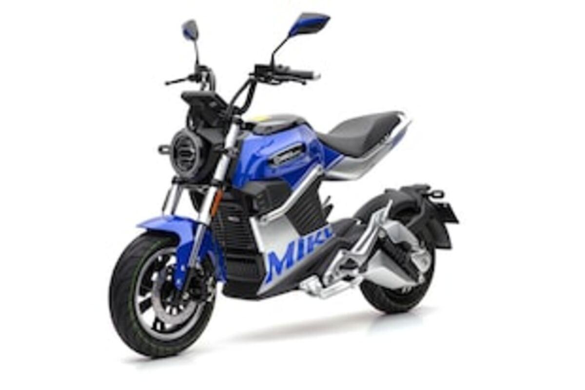 Bild 2 von Econelo Elektro Zweiradroller SUPER MIKU blau