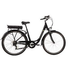 Saxonette Citybike Advanced Sport schwarz matt