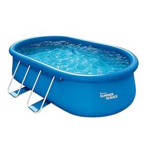 Summer Waves Quick Set Pool 457x305x107 cm blau
