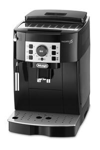 DELONGHI ECAM 20.116.B MAGNIFICA S schwarz/silber Kaffeevollautomat (Kegelmahlwerk, leise, herausnehmbar, Milchschaum-Düse, Spül-Programm, Entkalkungs-programm)