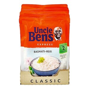 Uncle Bens Expressreis Basmati 250 g, 6er Pack