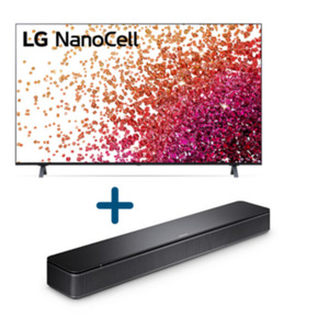 "LG 65NANO759PA 164cm 65"" Fernseher inkl. Bose Soundbar"