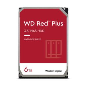 WD Red Plus WD60EFZX - 6 TB 5640 rpm 128 MB 3,5 Zoll SATA 6 Gbit/s