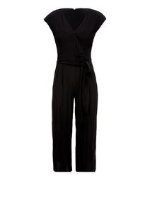Damen Culotte-Jumpsuit aus Crêpe