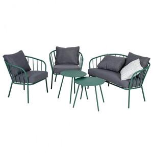 Greemotion Lounge-Set Nizza, Stahl, grün