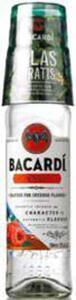 Bacardi Carta Blanca, Coconut, Razz oder Oakheart inkl. Glas