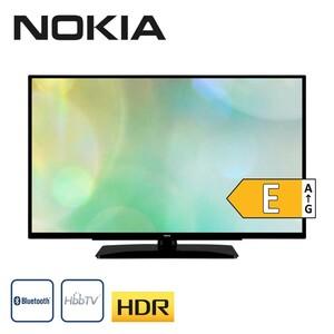Nokia 3900A, HD-TV, 3 x HDMI, 2 x USB, CI+, integr. Kabel-, Sat- und DVB-T2-Receiver, Maße: H 51,7 x B 89,2 x T 9,5 cm, Energie-Effizienz E (Spektrum A bis G) nach neuer Richtlinie, Bildschirmdiagon