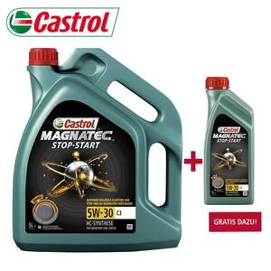 Castrol Motorenöl, Magnatec Stop-Start 5W-30, 5 Liter