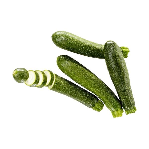 Spanien Zucchini, Kennzeichnung siehe Etikett, jedes 500-g-Netz