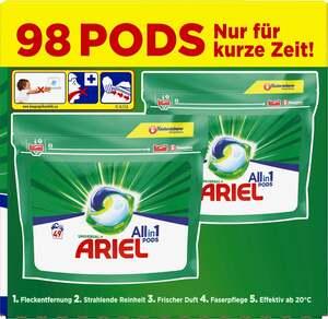 Ariel All-in-1 Universal+ Vollwaschmittel PODS 98 WL