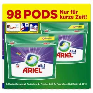 Ariel All-in-1 Color+ Colorwaschmittel PODS 98 WL